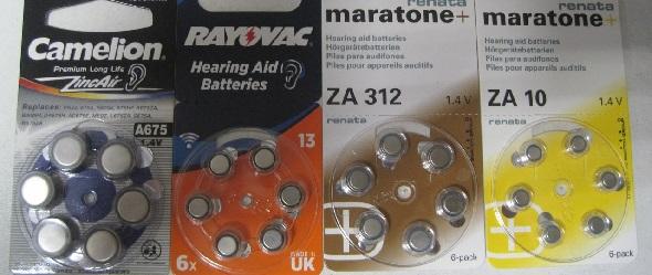 Батарейки для слуховых аппаратов в СПБ