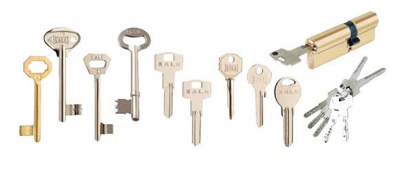 Изготовление ключа КАЛЕ (KALE) в СПБ