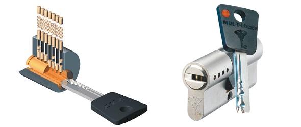 Изготовление ключа МУЛЬТИЛОК (MUL-T-LOCK) в СПБ