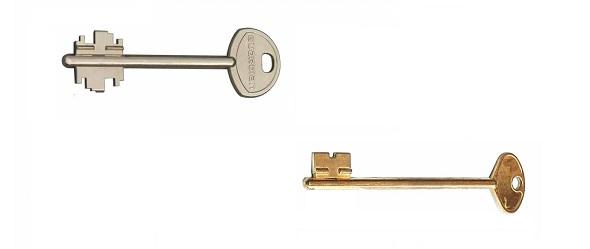 Изготовление однобородочных, двухбородочных ключей