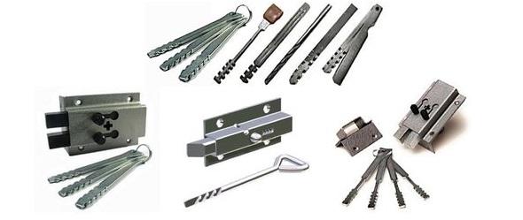 Изготовление ригельных ключей